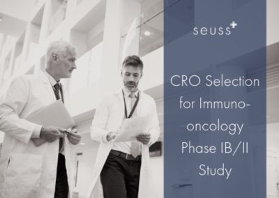 CRO Selection for Immuno-oncology Phase IB/II Study
